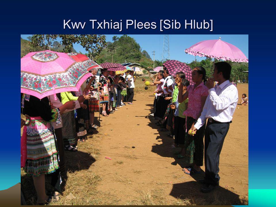 Kwv Txhiaj Plees [Sib Hlub]